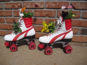 These aren't my skates, but they looked similar.