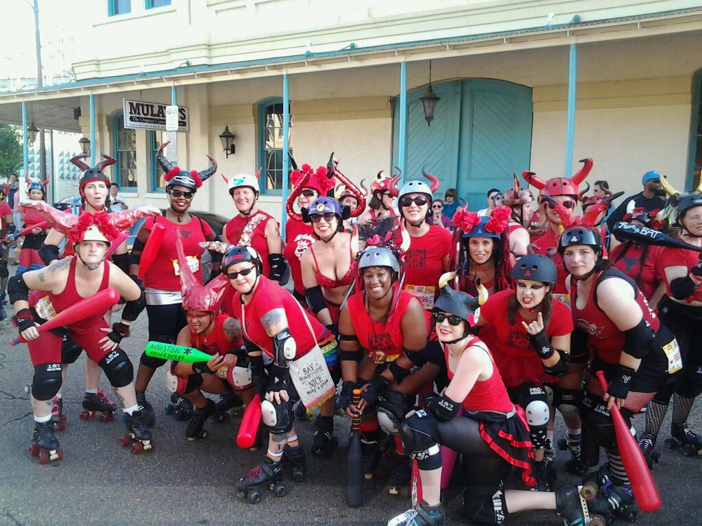Roller skating houston - The San Fermin In Nueva Orleans Will Go Into It S Eighth Year In 2014 And Is A Great Opportunity For Derby Leagues Across The U S And Possibly The World